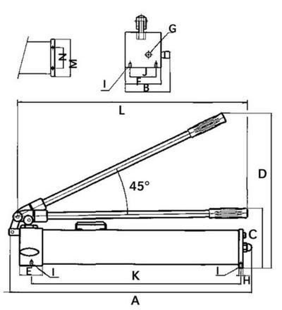 2-toiminen hydraulipumppu, Mega - 2-toiminen hydraulipumppu