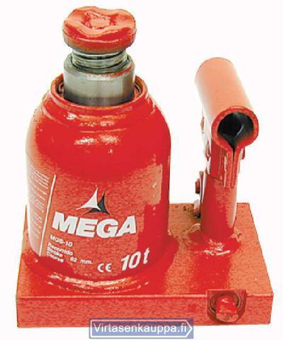Hydraulinen pullonostin 10 t, matala malli, Mega - Hydraulinen pullonostin 10 t, matala malli