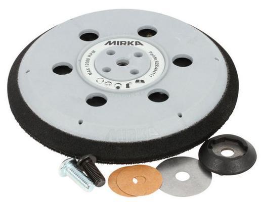 Alustalla 150 mm Abranet yhdistelmä, Mirka - Alustalla 150 mm Abranet yhdistelmä