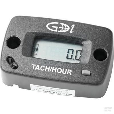 Tunti- ja kierroslukumittari (2/4-tahti), GDI - Tunti- ja kierroslukumittari