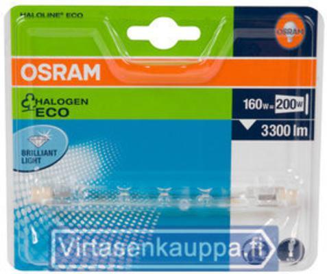 OSRAM HALOLINE ECO 160W 230V 118MM R7S