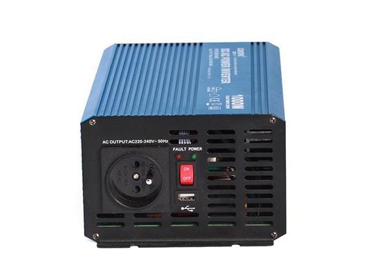 Invertteri, puhdas siniaalto 1000 W (24 V) - Invertteri 1000 W (24 V)