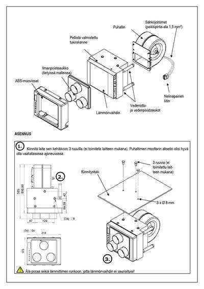 Lämmityslaite 24 V, CRX - Lämmityslaite 24 V