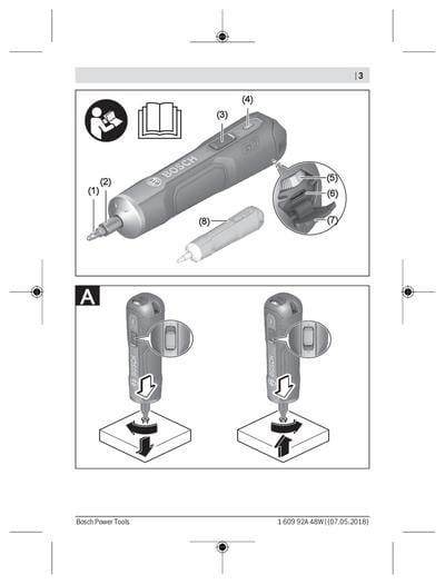 Akkuruuvinväännin PushDrive, Bosch - Akkuruuvinväännin PushDrive