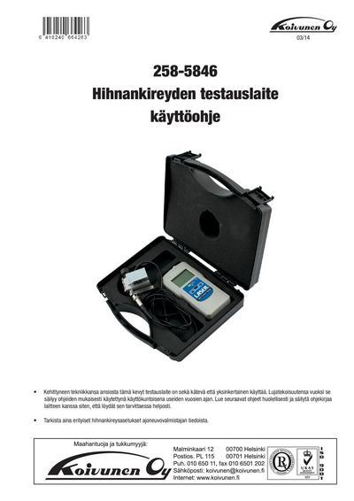 Jakohihnan kireysmittari, Laser - Jakohihnan kireysmittari
