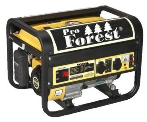 Aggregaatti ProForest GE3500A, 230 V & 12 V / 2,5 kW - Aggregaatti ProForest GE3500A, 230 V & 12 V / 2,5 kW
