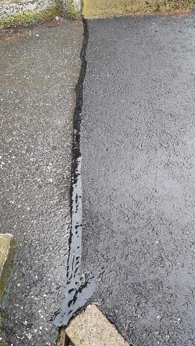 Sulatettava bituminauha asfaltin korjaukseen (48m)