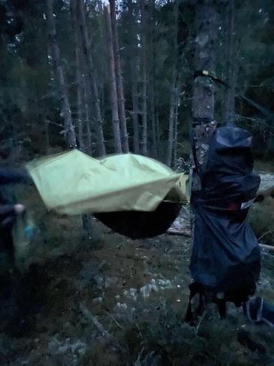 Riippumatto / teltta Out-Zone Rain Hammock