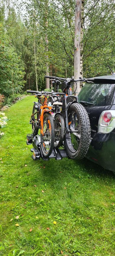 Polkupyöräteline VeloCompact (3-pyörälle), Thule