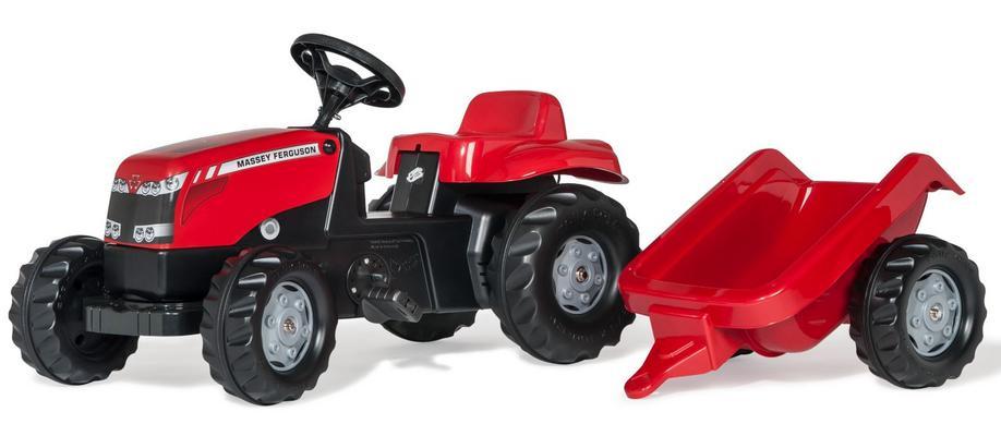 Massey Ferguson polkutraktori perävaunulla, Rolly Toys - Massey Ferguson polkutraktori perävaunulla