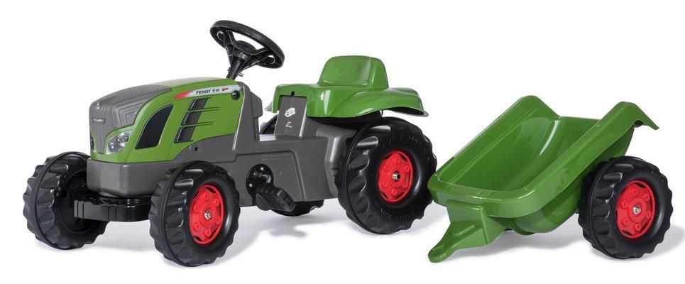 Fendt 516 Vario -polkutraktori perävaunulla, Rolly Toys - Fendt 516 Vario -polkutraktori