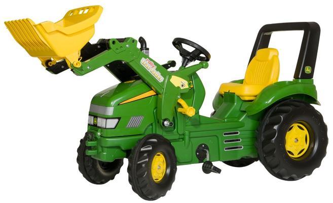 John Deere X-trac -polkutraktori etukuormaajalla, Rolly Toys - John Deere X-trac -polkutraktori etukuormaajalla