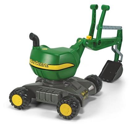 Päältäajettava John Deere -kaivinkone, Rolly Toys - Päältäajettava John Deere -kaivinkone