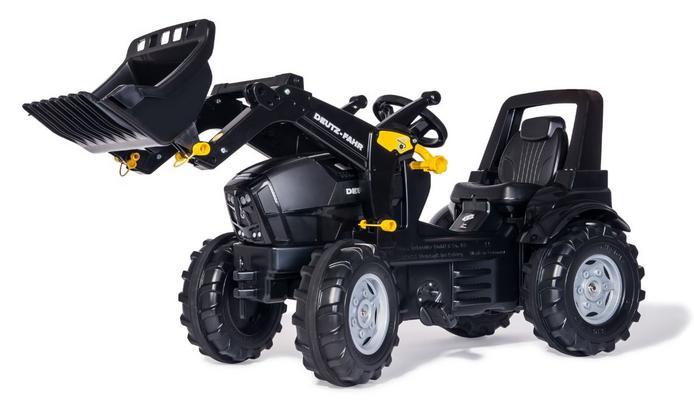 Deutz Agrotron 7250 TTV Warrior-polkutraktori etukuormaajalla, Rolly Toys - Deutz Agrotron 7250 TTV Warrior-polkutraktori etukuormaajalla