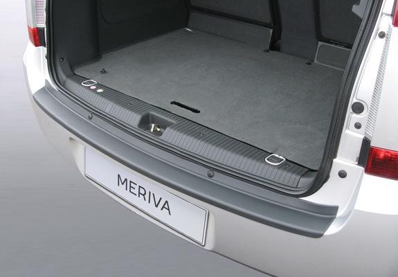 Takapuskurin suoja Opel Meriva A (2003->2010), (Ei OPC)