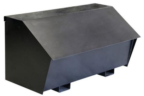 Tuhkakontti lämpölaitoksiin, Lohimet - Tuhkakontti L800 x K1200 x S1420