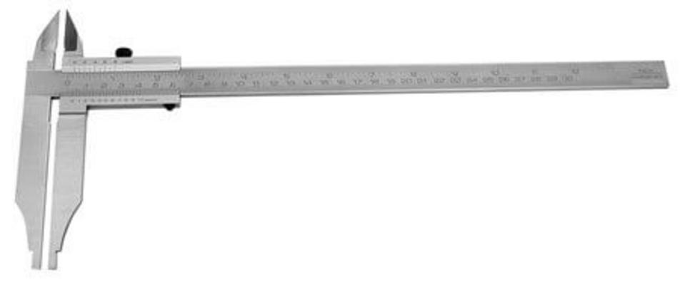 Työntömitta 300 mm, DIN862, Scala - Työntömitta 300 mm, DIN862