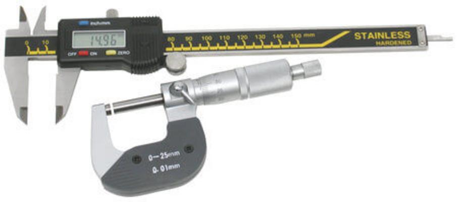 Mikrometri ja työntömittasetti, Scala - Mikrometri ja työntömittasetti