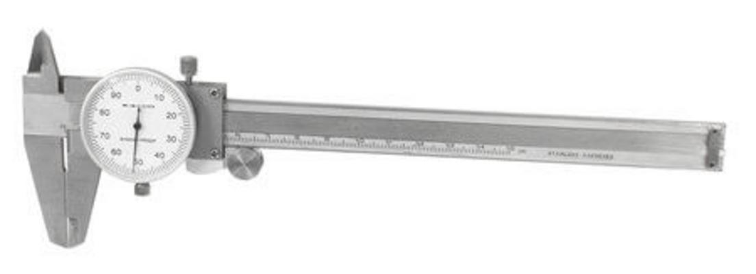 Työntömitta kellonäytöllä 150 mm, Scala - Työntömitta kellonäytöllä 150 mm