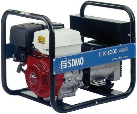 Aggregaatti Honda HX6000 230 V / 6 kW - SDMO - Aggregaatti Honda HX6000 230 V / 6 kW
