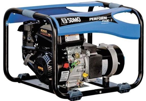 Aggregaatti Perform 7500T, 230 V & 400 V / 2,3 kW & 6,5 kW, SDMO - Aggregaatti Perform 7500T, 230 V & 400 V / 2,3 kW & 6,5 kW