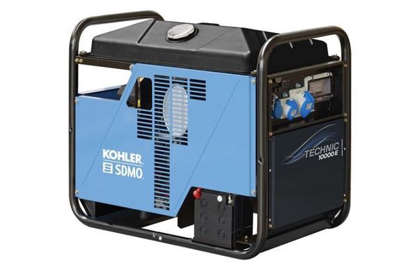 Aggregaatti Technic 10000 E AVR, 230 V / 10 kW - SDMO - Aggregaatti Technic 10000, 230 V / 10 kW
