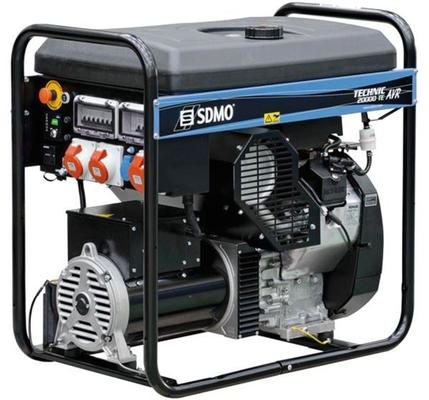 Aggregaatti Technic 20000 TE AVR, 230 V & 400 V / 3,7 kW & 15,2 kW, SDMO - Aggregaatti Technic 20000 TE AVR, 230 V & 400 V / 3,7 kW & 15,2 kW