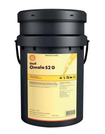 Vaihteistoöljy Shell Omala S2 G - Shell Omala S2 G 100, viskositeetti (40°C): 100 (20 l)