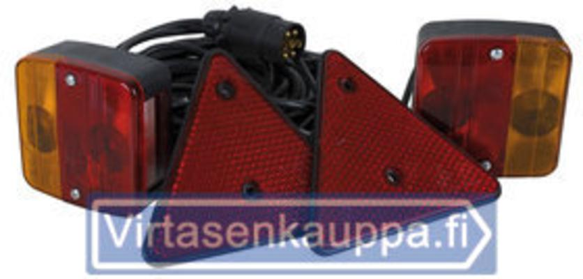 Peräkärryn valosarja 15 m, 12V, CRX - Peräkärryn valosarja 15 m, 12V