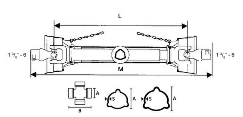 Nivelakseli B101 1.3/8-6, Benzi di Terlizzi - Nivelakseli B101 1.3/8-6