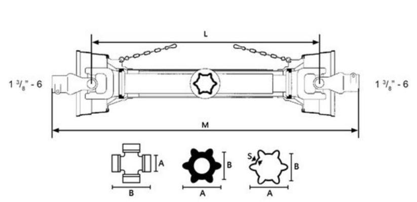 Nivelakseli B110 1.3/4-6 - levykytkin FF4 1.3/4-6, Benzi di Terlizzi - Nivelakseli B110 1.3/4-6 - levykytkin FF4 1.3/4-6