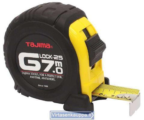 RULLAMITTA 7M/25MM G-LOCK TAJI