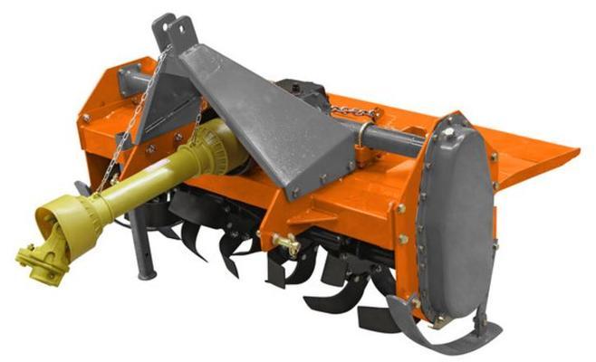 Traktorikäyttöinen puutarhajyrsin 125 cm, Tarmo - Traktorikäyttöinen puutarhajyrsin 125 cm