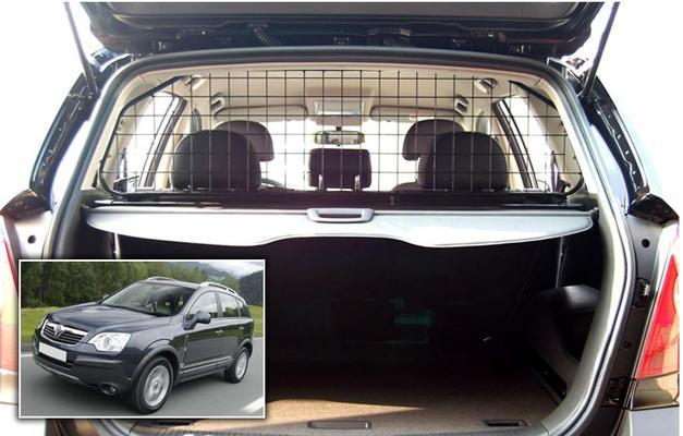 Koiraverkko autoon - Opel Antara (2007->), Travall - Koiraverkko autoon - Opel Antara