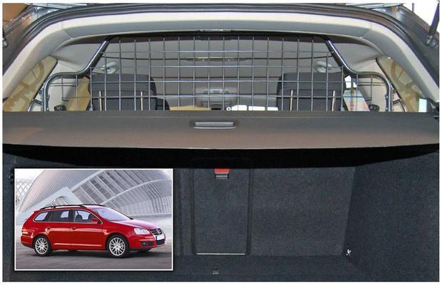 Koiraverkko autoon - Volkswagen Golf Variant (2007-2013), Travall - Koiraverkko autoon - Volkswagen Golf Variant