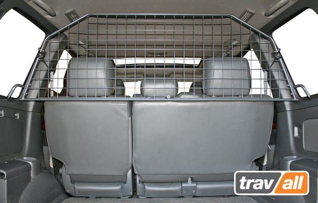 Koiraverkko autoon - Toyota Land Cruiser (2003-2009), Travall - Koiraverkko autoon - Toyota Land Cruiser