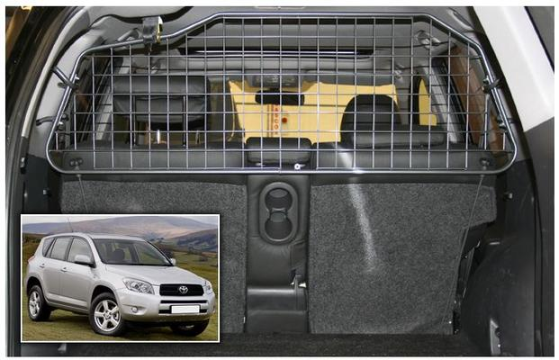 Koiraverkko autoon - Toyota RAV4 (2006-2012), Travall - Koiraverkko autoon - Toyota RAV4