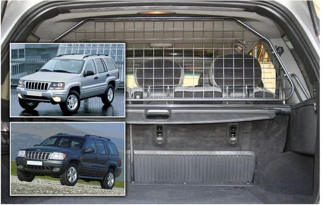 Koiraverkko autoon - Jeep Grand Cherokee (WJ, 1999-2005), Travall - Koiraverkko autoon - Jeep Grand Cherokee (WJ)