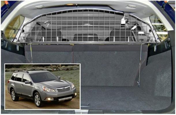 Koiraverkko autoon - Subaru Outback (2009-2014)/ Legacy Tourer (2009 ->), Travall - Koiraverkko autoon - Subaru Outback / Legacy Tourer