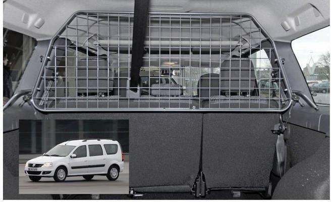 Koiraverkko autoon - Dacia Logan MCV (2007-2013), Travall - Koiraverkko autoon - Dacia Logan MCV