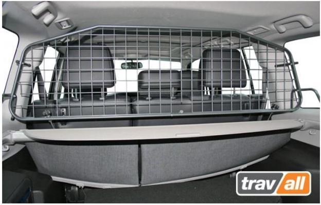Koiraverkko autoon - Mitsubishi Pajero (2000->), Travall - Koiraverkko autoon - Mitsubishi Pajero