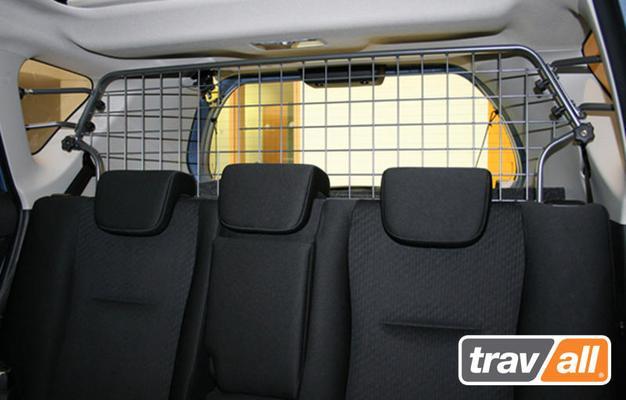Koiraverkko autoon - Toyota Verso S 5-paik (2011-> ), Travall - Koiraverkko autoon - Toyota Verso S
