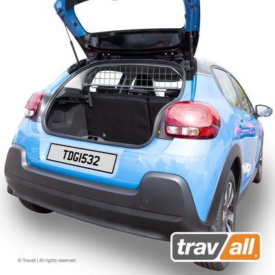 Koiraverkko autoon - Citroen C3 5d Hatchback (2016->), Travall