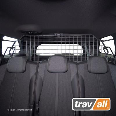 Koiraverkko autoon - Peugeot 5008 (2017->), Travall
