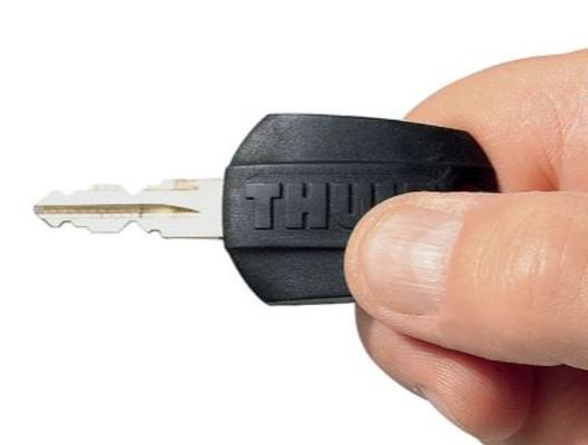 Lukkosarja One-Key System, Thule - 4 sylinteriä