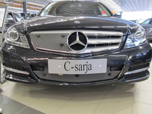 Maskisuoja Mercedes-Benz C-sarja (W204), Avantgarde, vm. 2011-2013 - Tammer-Suoja - Maskisuoja Mercedes-Benz C-sarja (W204)