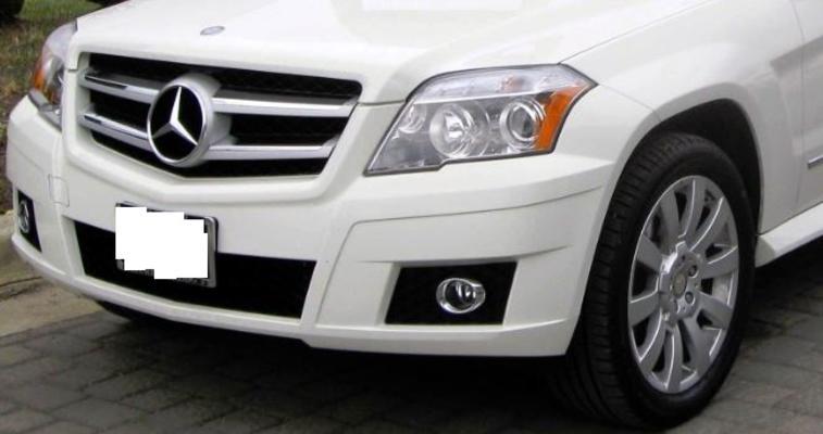 Maskisuoja Mercedes-Benz GLK (2008-2011), Tammer-Suoja - Maskisuoja Mercedes-Benz GLK
