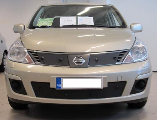 Maskisuoja Nissan Tiida (vm. 2007-2011), Tammer-Suoja - Maskisuoja Nissan Tiida