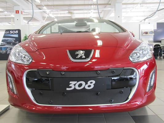 Maskisuoja Peugeot 308 (2011-2013), Tammer-Suoja - Maskisuoja Peugeot 308