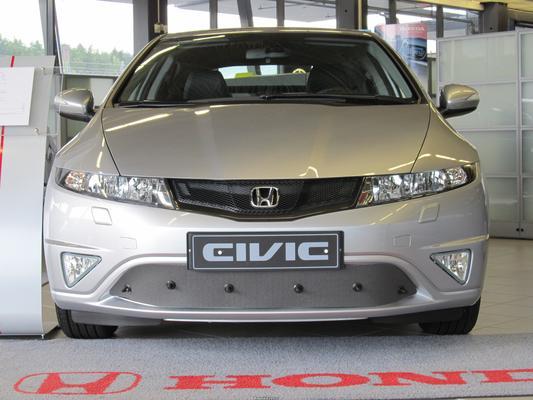 Maskisuoja Honda Civic HB (2009 - 2011), Tammer-Suoja - Maskisuoja Honda Civic Hybrid